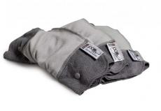 Pop-in-Nachteinlagen 3-er Pack grau
