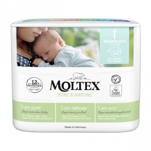 MOLTEX nature Gr.1 newborn 23St.