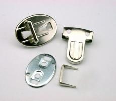 Metall Steckverschluß Steckerbreite: 13 mm