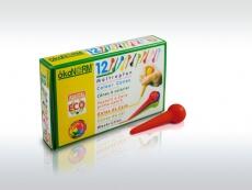 oekoNorm Wachs-Maltropfen, 12 Farben