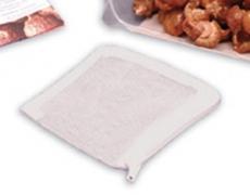 kochfester Waschbeutel mit Reißverschluß 10x10cm