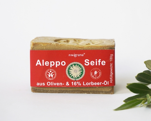 Finigrana Alepposeife 16% Lorbeeröl 180g