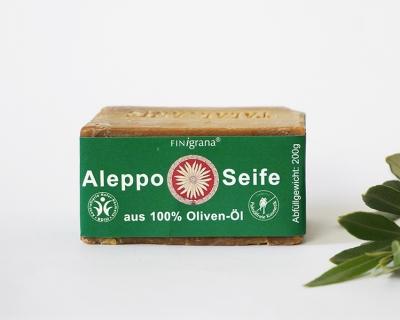 Alepposeife 100% Olivenöl 200g