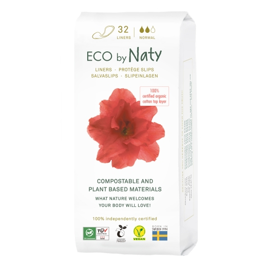Naty Eco-Slipeinlagen normal - 32 St.