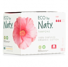 Naty Tampons Super 18St.