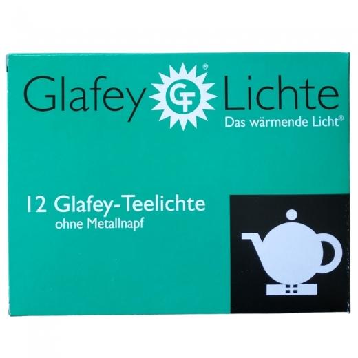 Glafey-Teelichte ohne Napf 12er Pack
