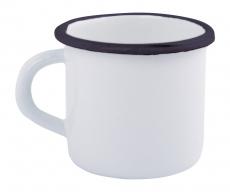 Emaille Trinkbecher / Tasse mit 0,4ml Fassungsvermögen
