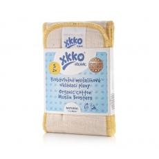 XKKO Organic Einlagen BIO-Mull 2er Pack - Gr. S (11x68cm)