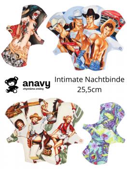 Anavy Nachtbinde Intimate - mit Nässeschutz aus Fleece