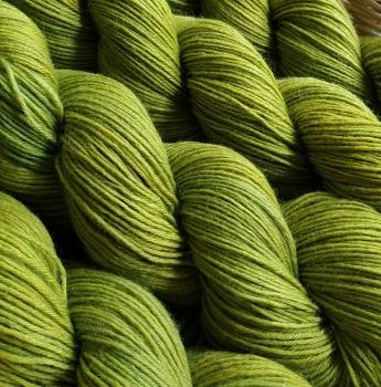 Blumenschaf Nature Sock *Birke/ Indigo - maigrün