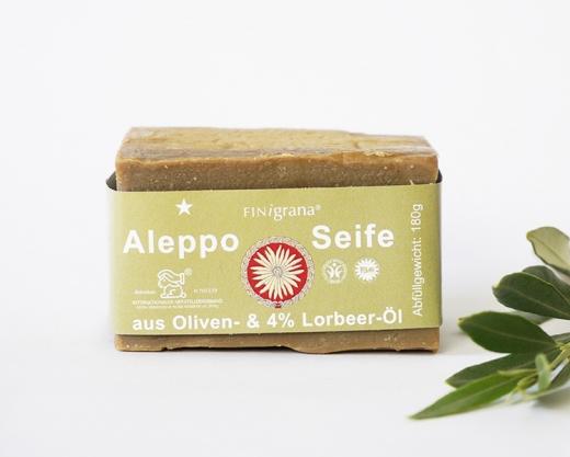 FINigrana Alepposeife mit 4% Lorbeeröl 180g