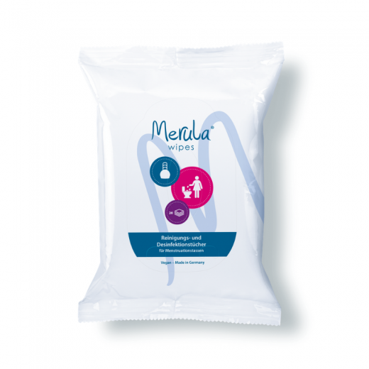 Merula Wipes - Reinigungstücher für Menstruationstassen