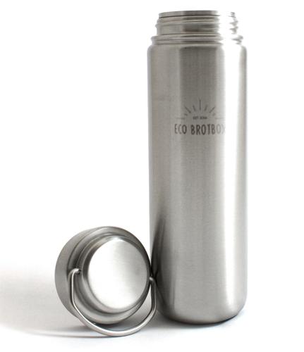 eco zen2 trinkflasche aus edelstahl 0 75l trinkfl. Black Bedroom Furniture Sets. Home Design Ideas