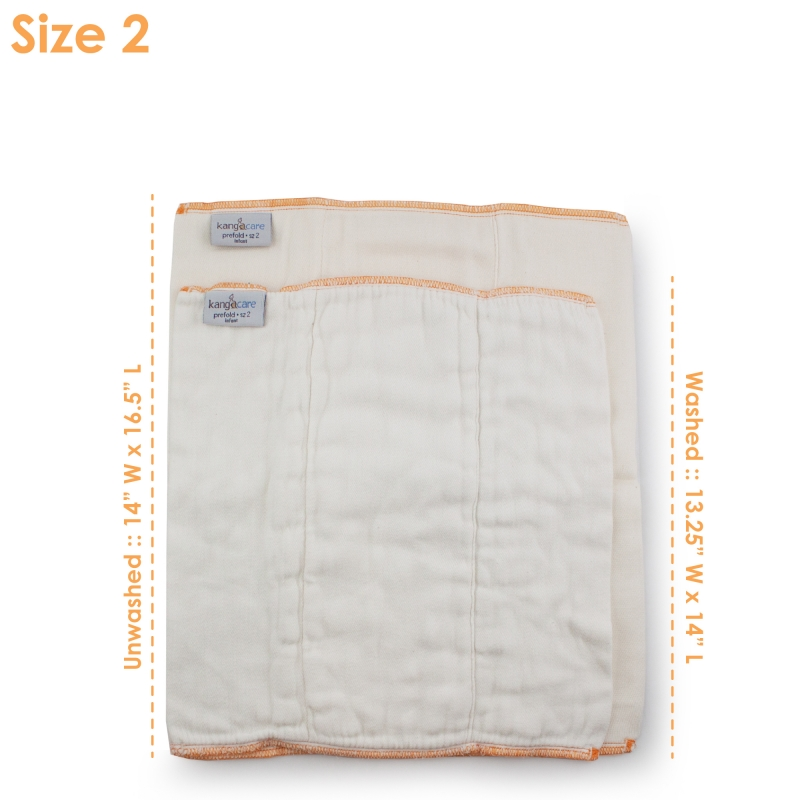 Rumparooz Prefold Infant