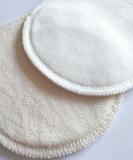 Popolini Stilleinlagen Biobaumwolle - rund (3 Paar)
