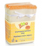 XKKO Prefolds Infant natur 32x34 cm - 6er Pack