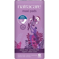 Natracare Damenbinden Maxi Pads Night Time 10 St./Pk