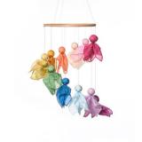 Filges Feenreigen Bastelset - plastikfreies Babymobile aus Naturmaterialien