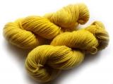 Sockenwolle pflanzengefärbt 420m /100g *Heidekraut