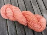 Sockenwolle naturgefärbt 420m /100g *Orleans Cochenille