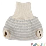 Popolini Schlupfüberhose aus Wolle