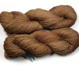Sockenwolle pflanzengefärbt 420m /100g *Aronia (Apfelbeere)