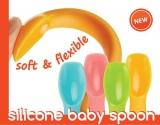 Innobaby Silikonlöffel für Babys + Etui