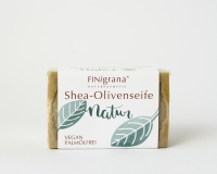 Aleppo Oliven Seife mit bio Sheabutter naturell 100g