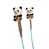 HiyaHiya Panda Cable Stoppers LARGE