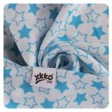XKKO Mullwindel Bamboo 3er Pack *Little Stars Cyan Mix