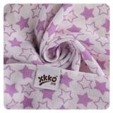 XKKO Mullwindel Bamboo 3er Pack *Little Stars Lilac Mix