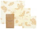 Bees Wrap 3er Set - small, medium, large