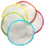 Waschbare Abschminkpads aus Biobaumwolle - einzeln