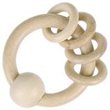 Heimess nature Greifling mit 4 Ringen