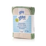 XKKO Organic Einlagen BIO-Twill 6er Pack - Gr. L (12 x 34 cm)