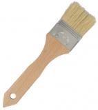 Backpinsel flach - Breite 5cm - plastikfrei (Holz, Metall)