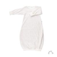 iobio Schlafhemd / Babygown Biobaumwolle *dancing dots