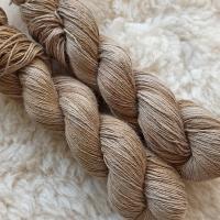 Blumenschaf Classic Sock - pflanzengefärbt *Walnussblätter graubraun melange