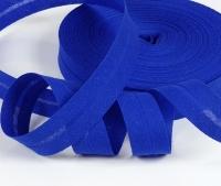 Baumwoll-Schrägband 20mm königsblau