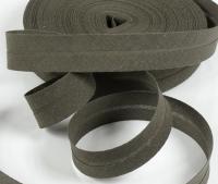Baumwoll-Schrägband 20mm kaffeebraun