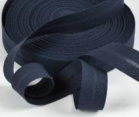 Baumwoll-Schrägband 20mm dunkelblau