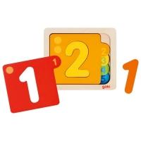Goki Schichtenpuzzle Zahlen